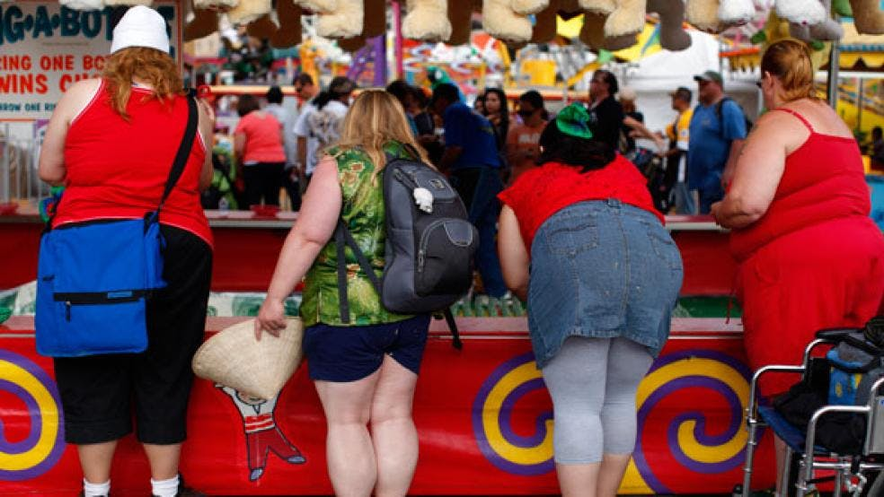 US Obesity Rate Hit a New Record High in 2015