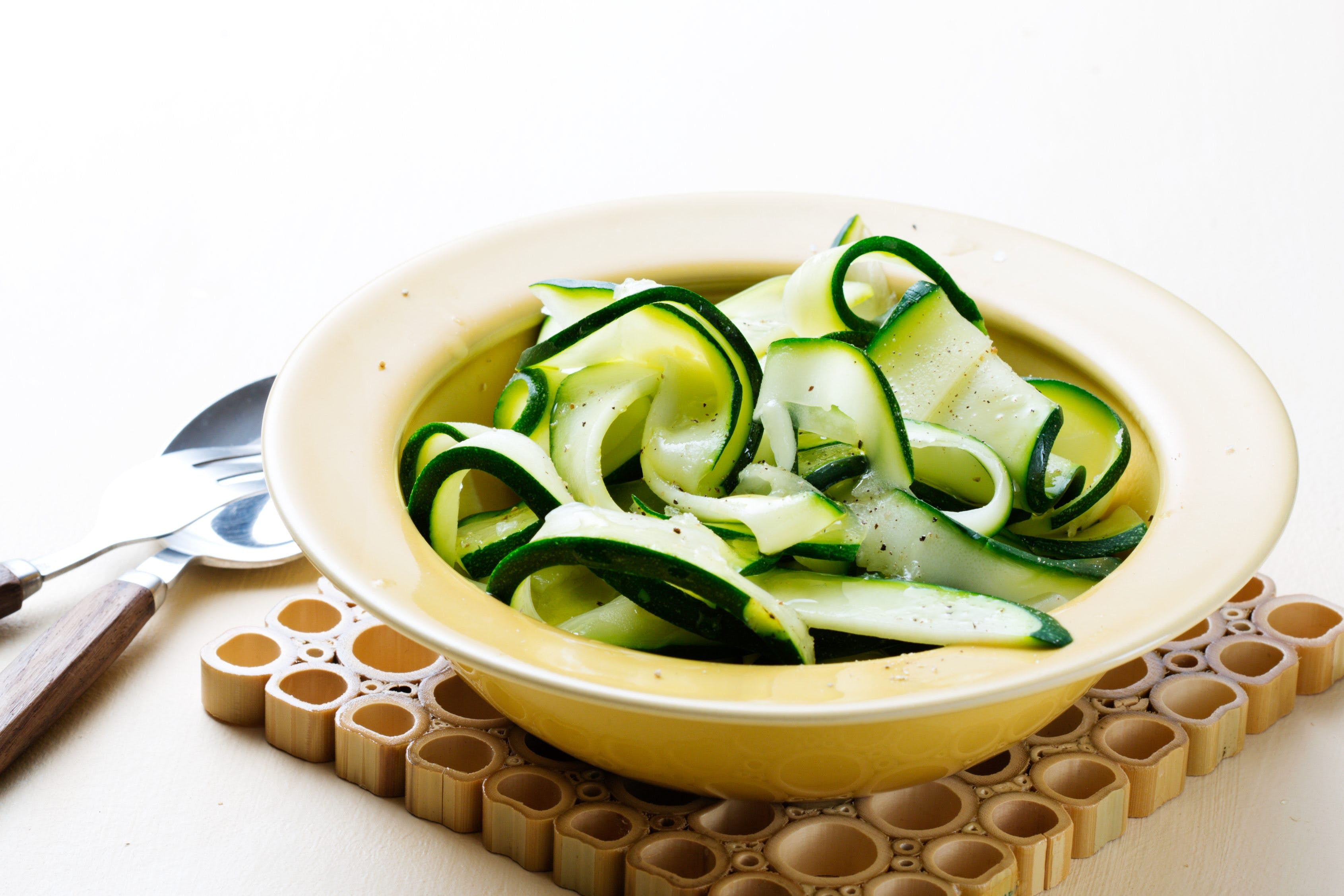 Zucchini fettuccine