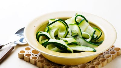 Zucchini Fettuccine - A Low-Carb Pasta Alternative