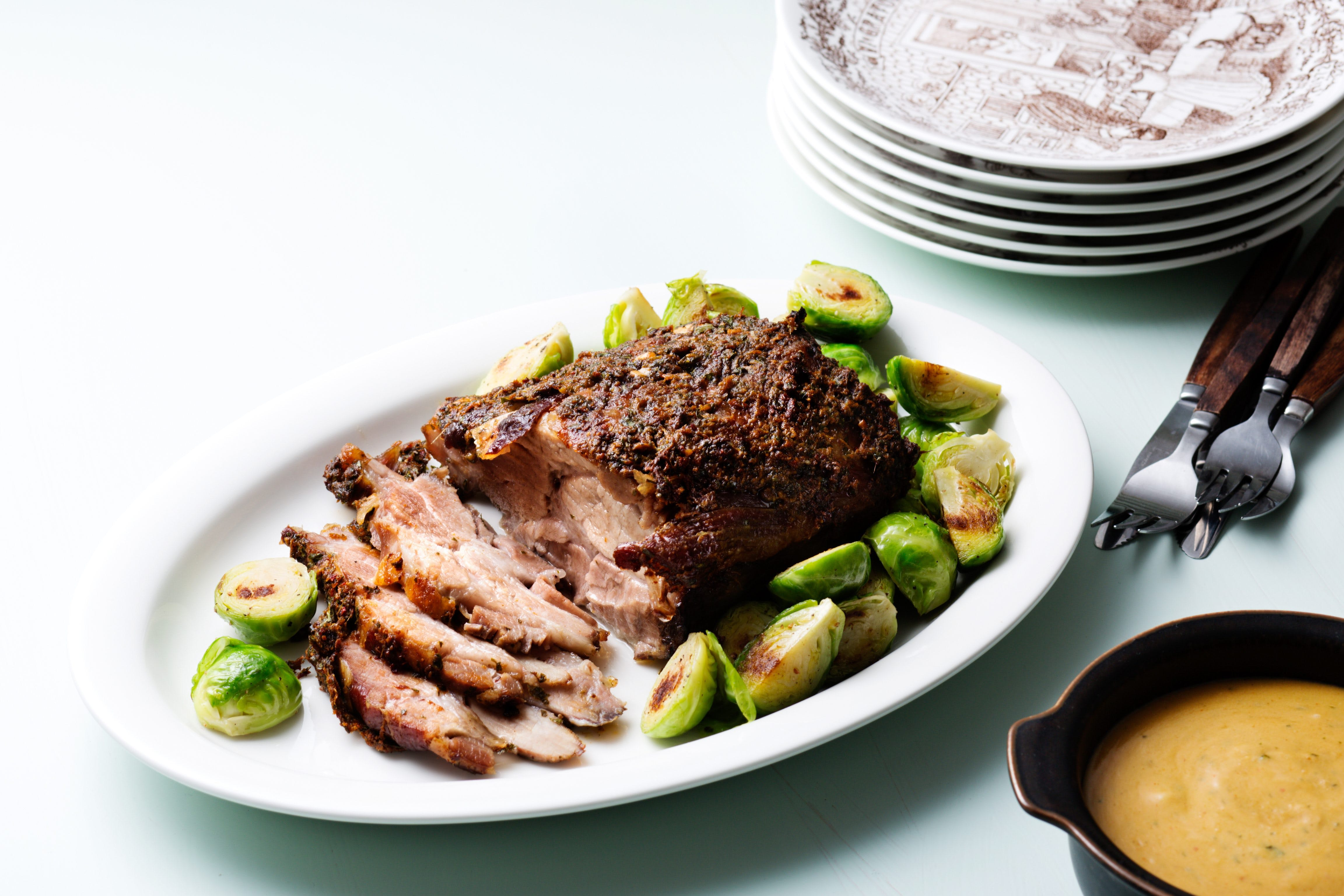 Slow-Cooked Pot Roast with Creamy Gravy