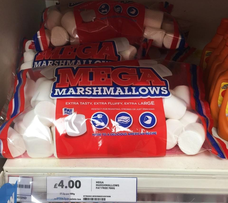 Zero Fat Marshmallows