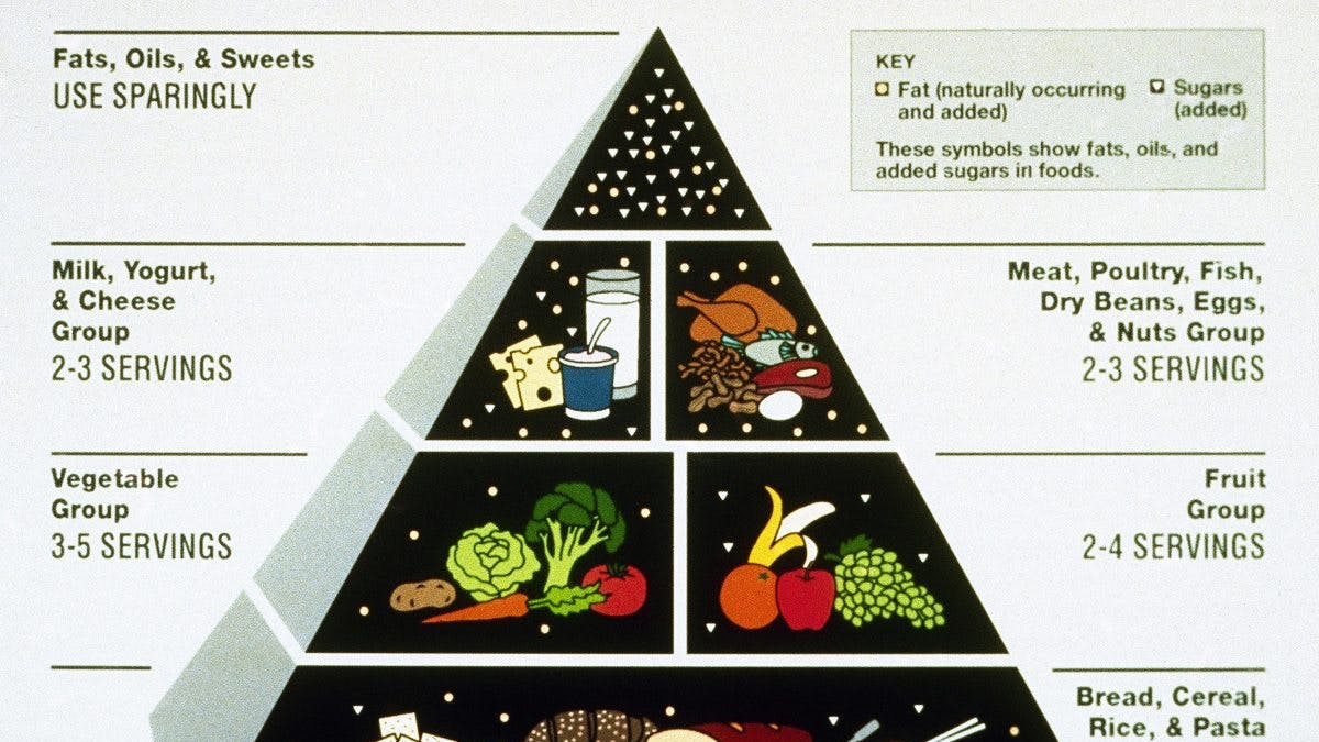 WSJ: The food pyramid scheme