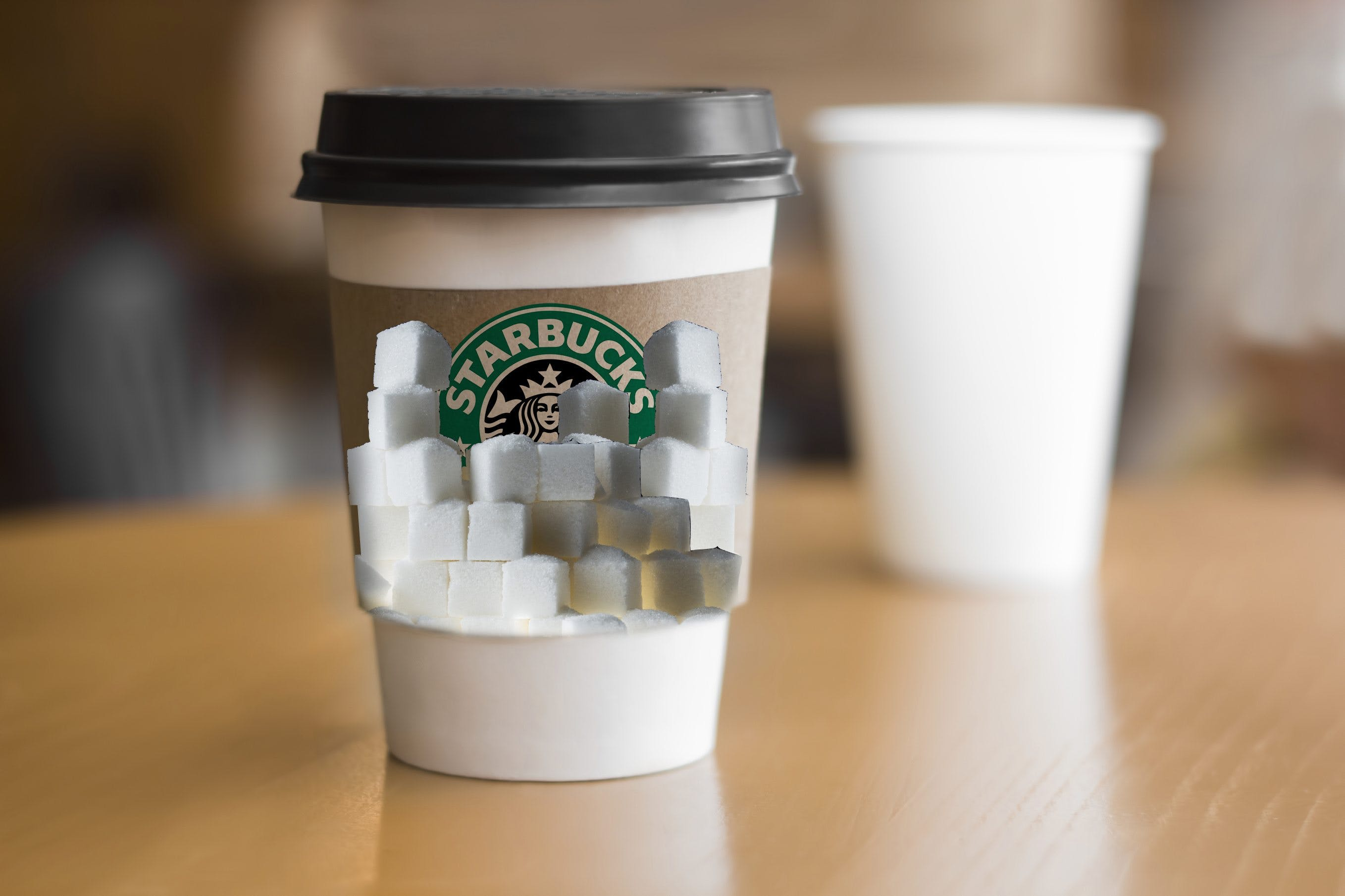 """Shocking"" Sugar Levels at Starbucks, Warns Charity"