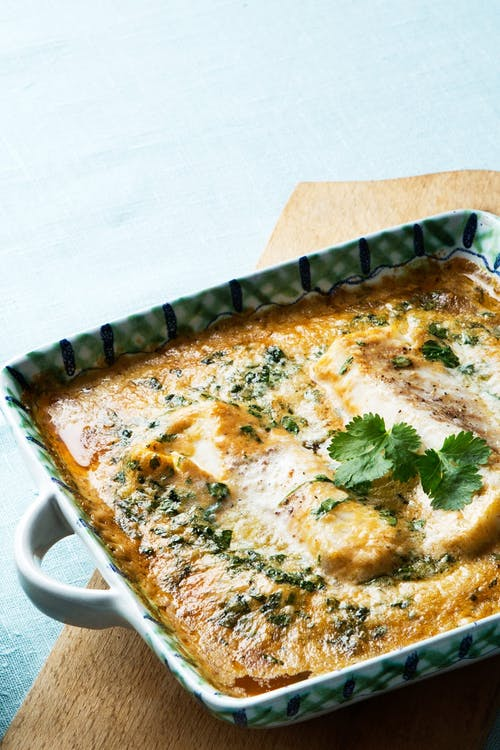 Keto Thai fish with curry and coconut