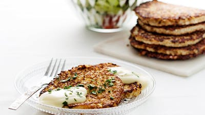 Cauliflower Hash Browns