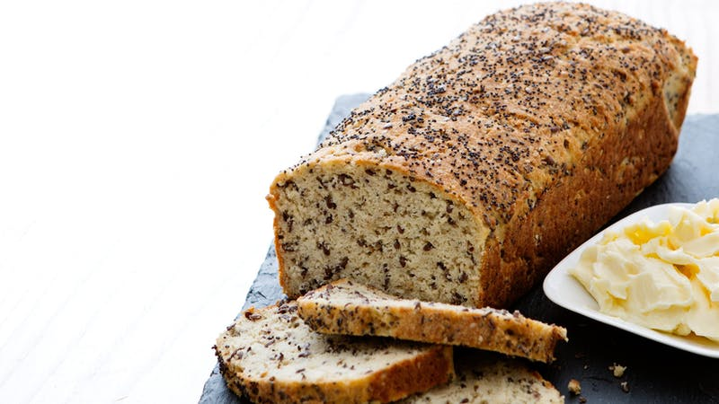 Soft keto seed bread