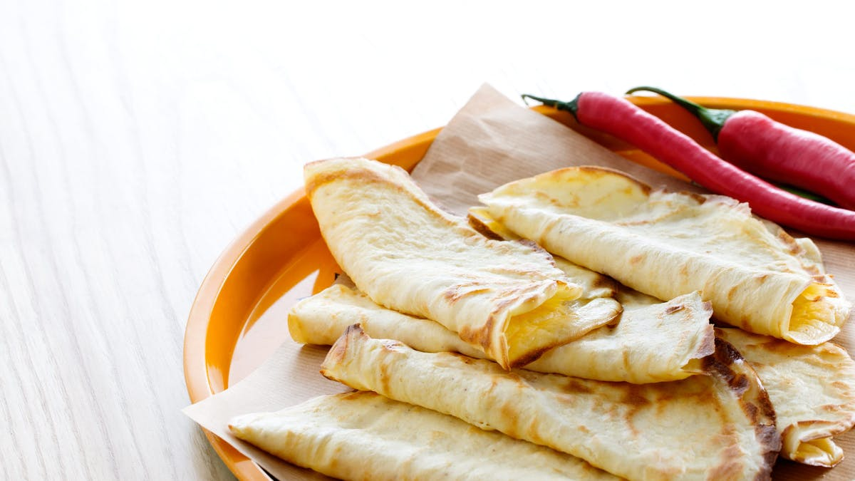 Low-carb tortillas