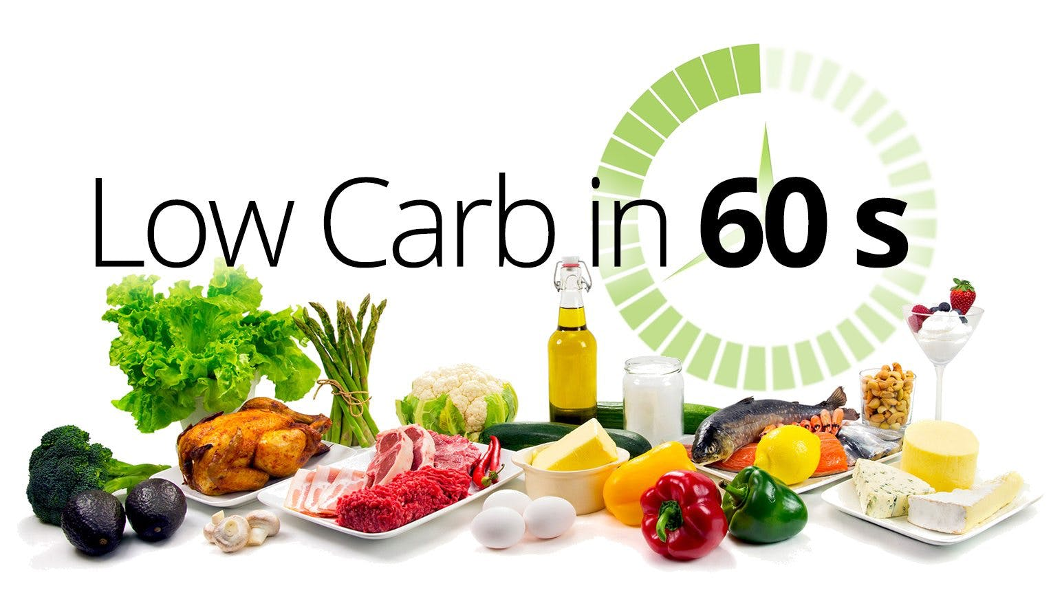 Low Carb in 60-seconds