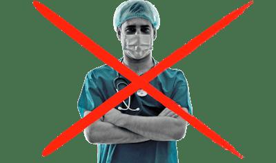 No surgery