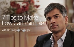 Seven tips to make low carb simple