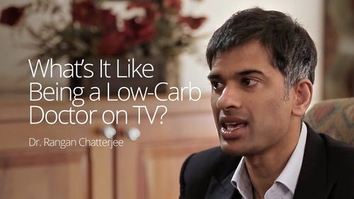 What's it like being a low-carb doctor on TV?