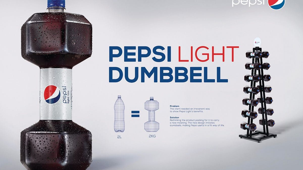 Pepsi's new 'dumbbell' design – a sign of desperation?