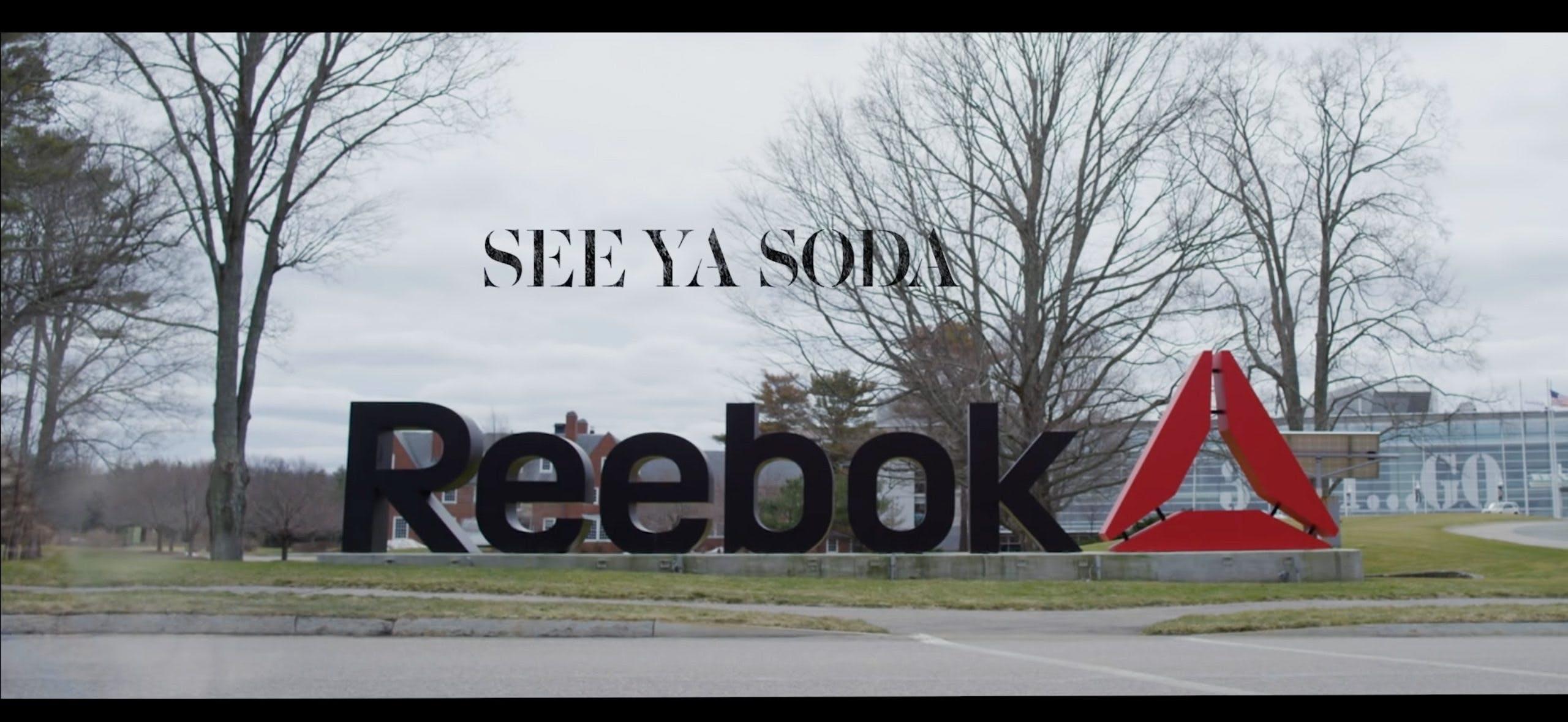 Reebok Bans Soda – Here's Why