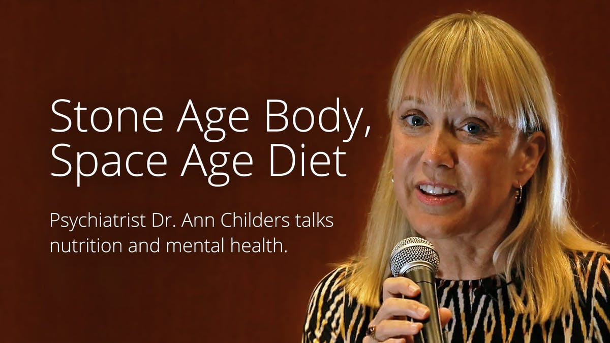 Stone Age body, Space Age diet