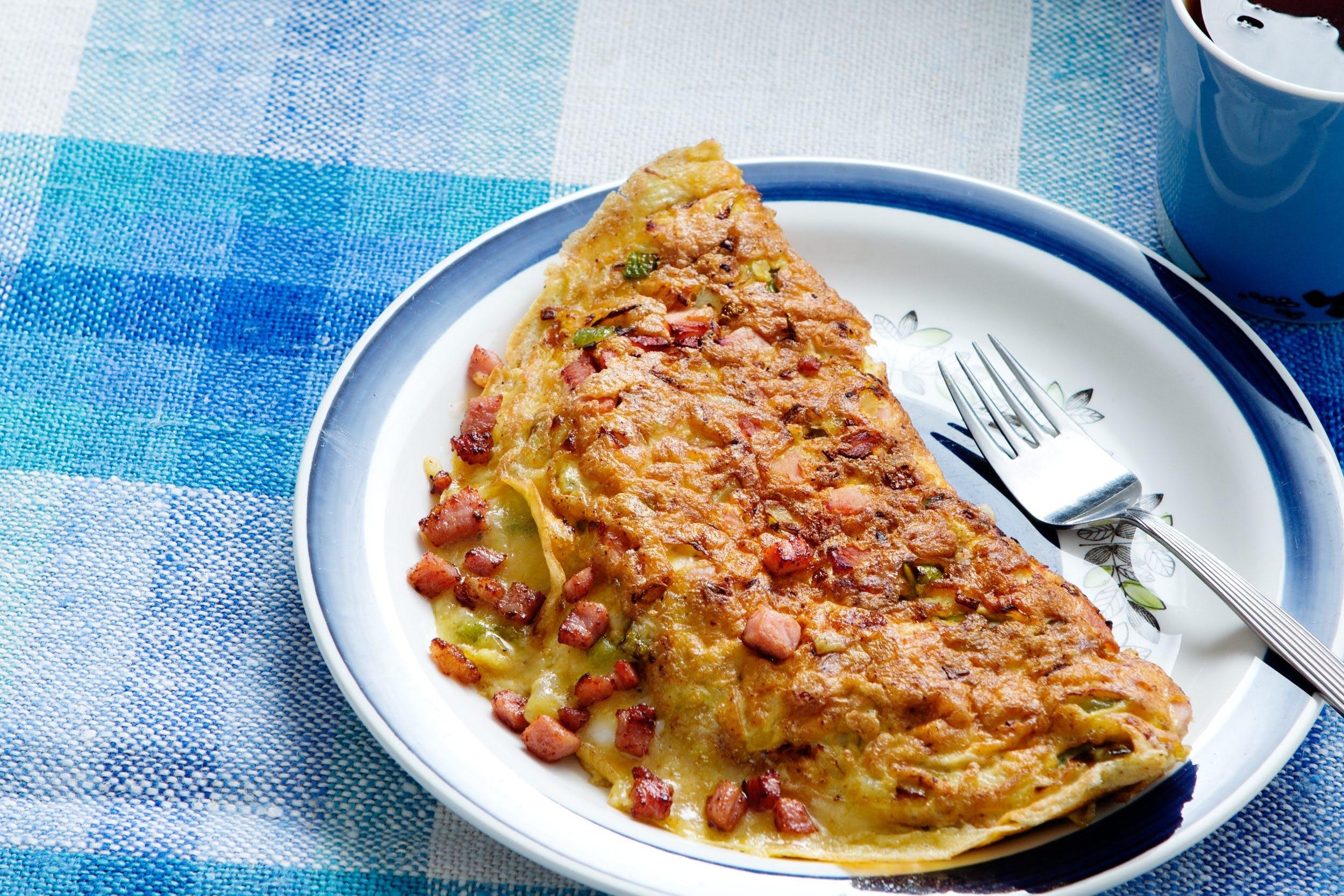Keto western omelet