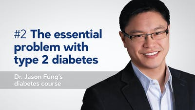 The essential problem with type 2 diabetes