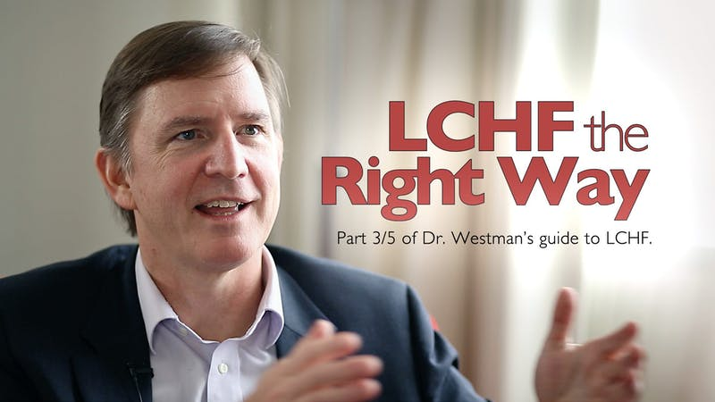LCHF the right way