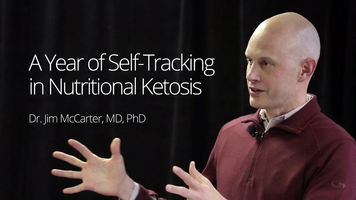 A year of self-tracking in nutritional ketosis