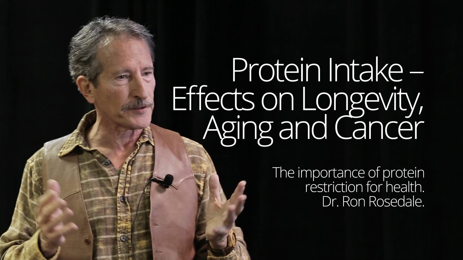 Protein intake – effects on longevity, aging and cancer