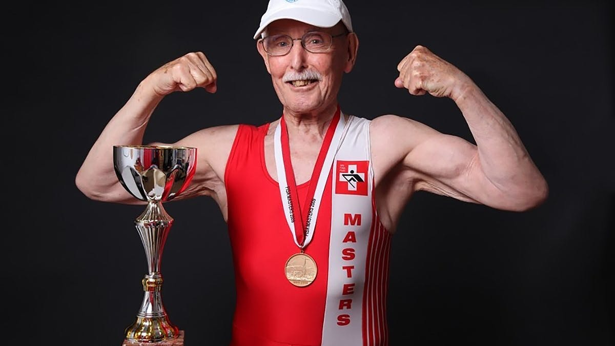 The secret diet of the fittest senior citizen on the planet