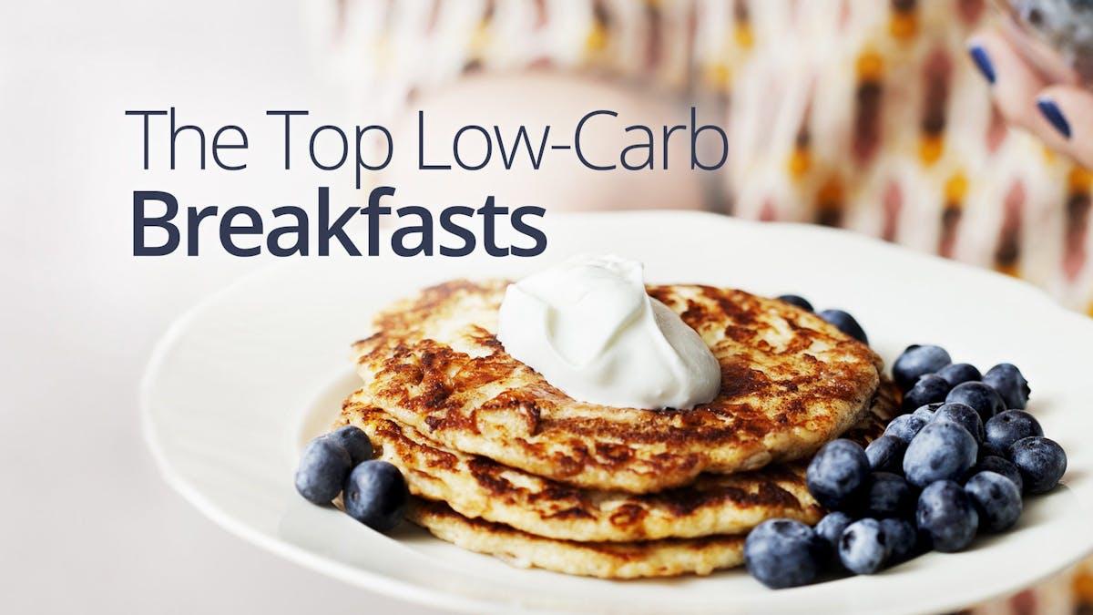 Low-carb breakfast favorites