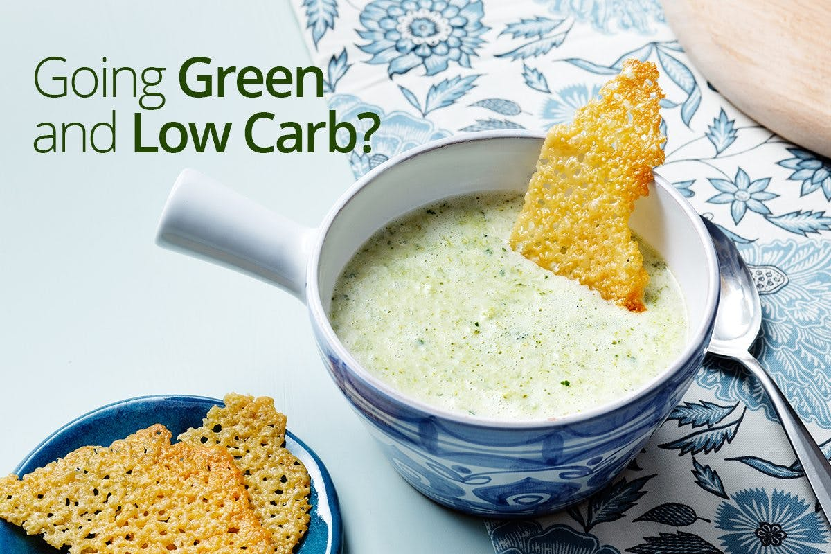 Going green and low carb