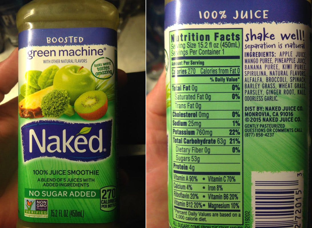 "The Naked ""No Sugar Added"" Juice Scam"