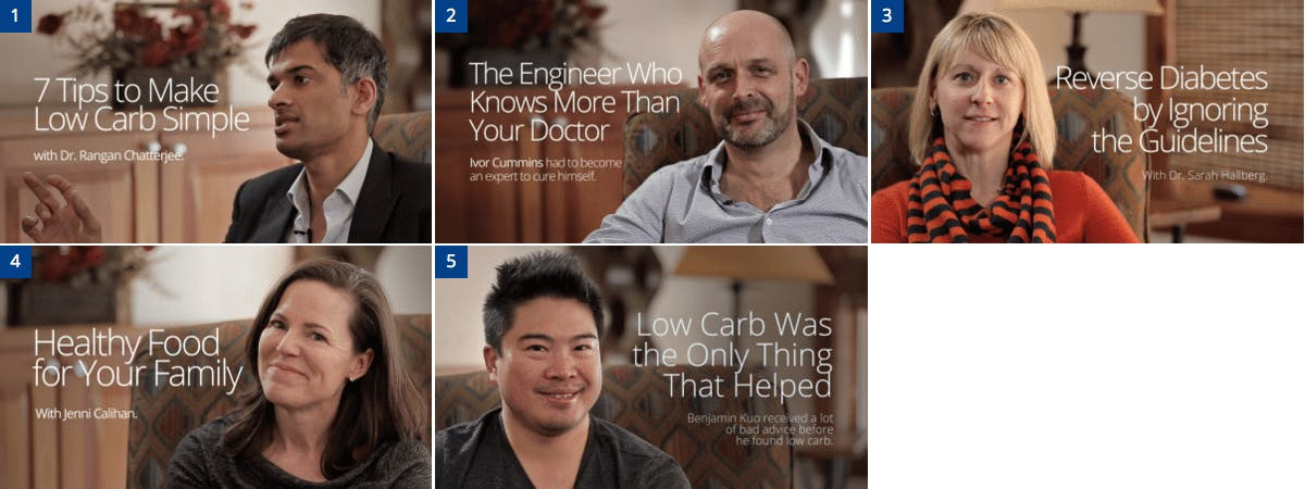 The Top 5 Low-Carb Interviews