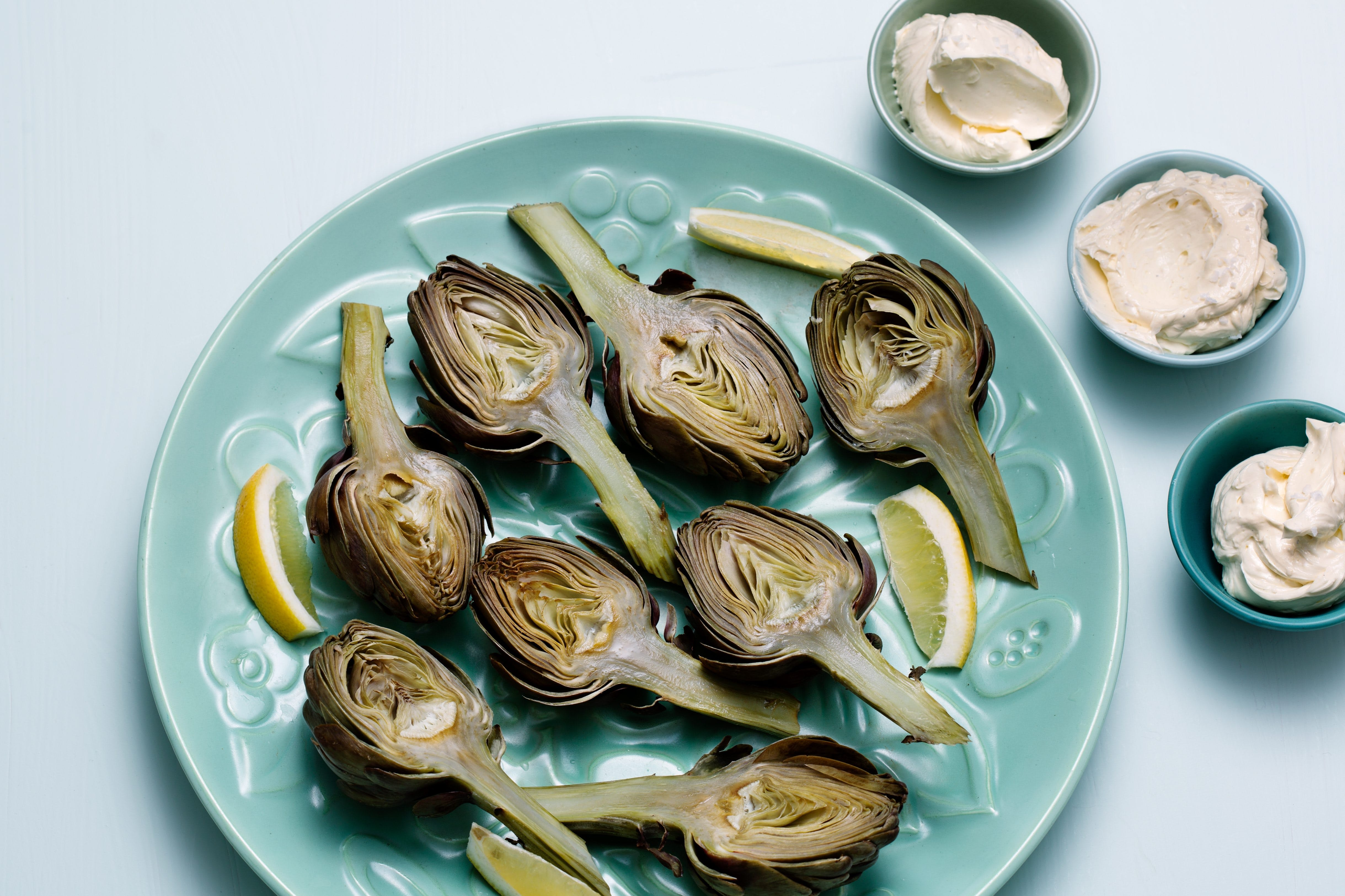 Artichokes with Whipped Lemon Butter