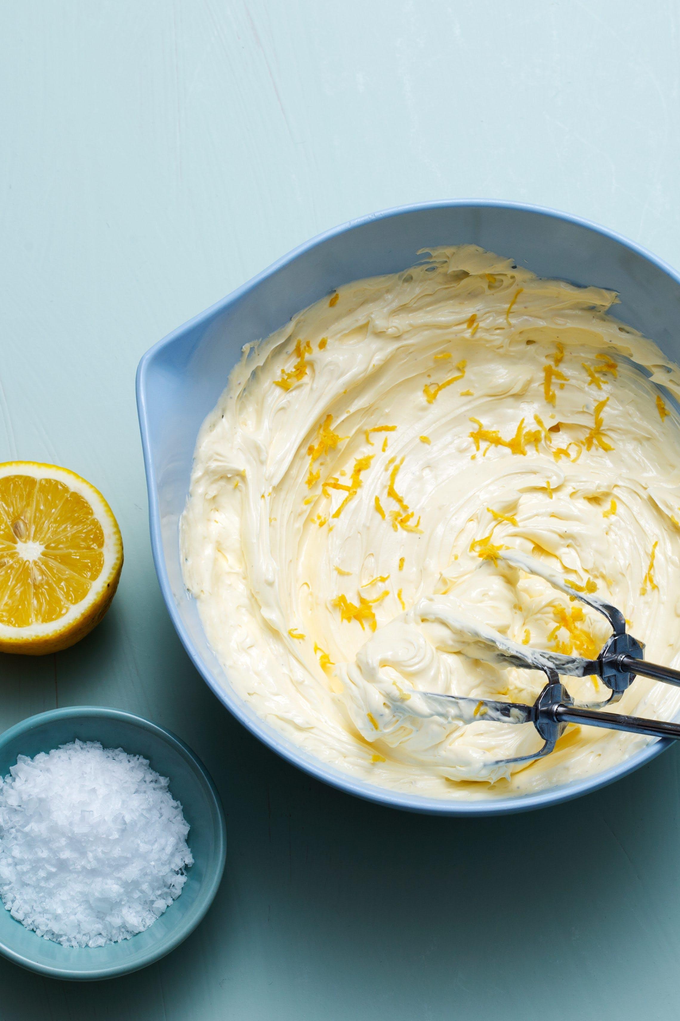 Whipped lemon butter
