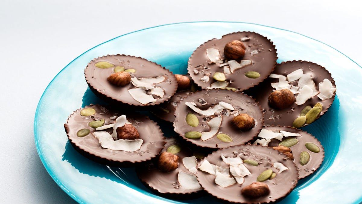Salty chocolate treat