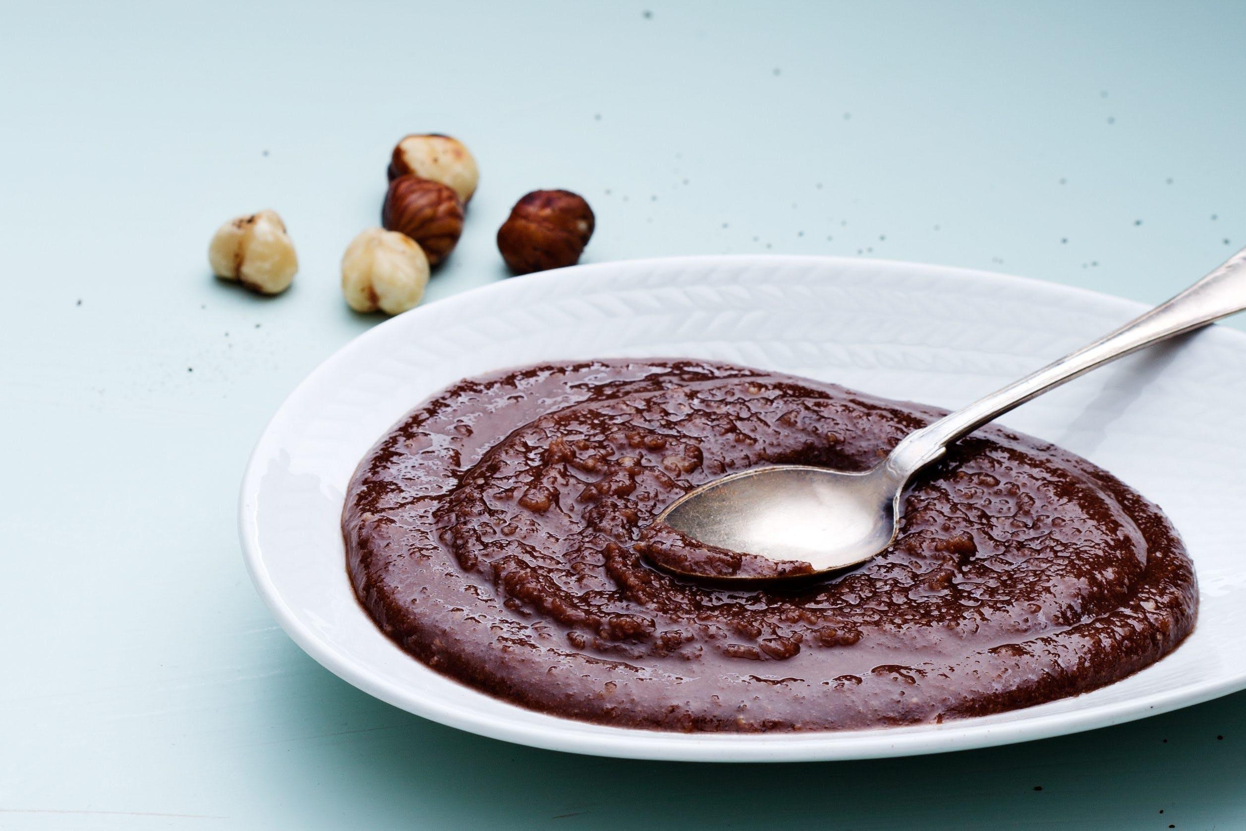 Keto chocolate and hazelnut spread
