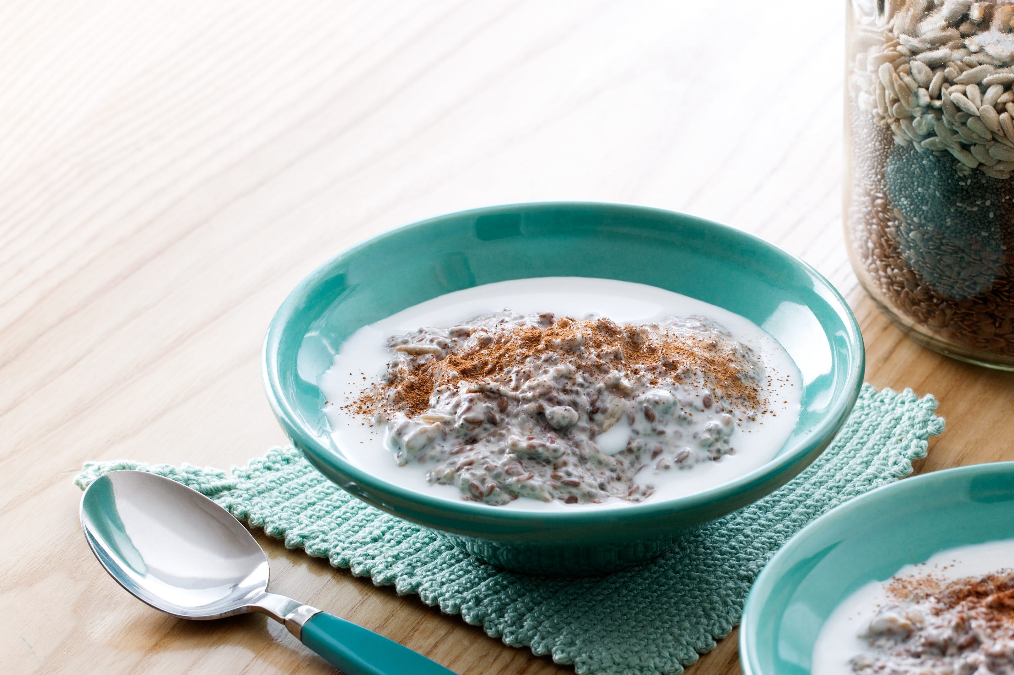 Judy's fabulous low-carb oatmeal