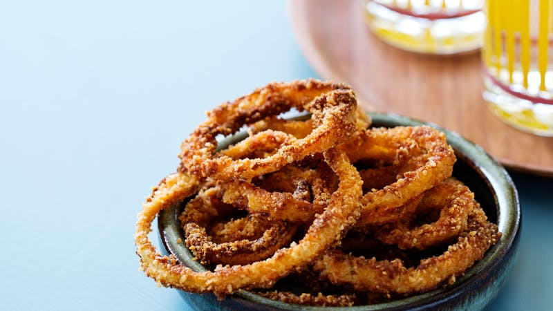 Low-Carb Onion Rings - Crispy and Gluten-Free