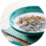 Egg-free low-carb breakfasts