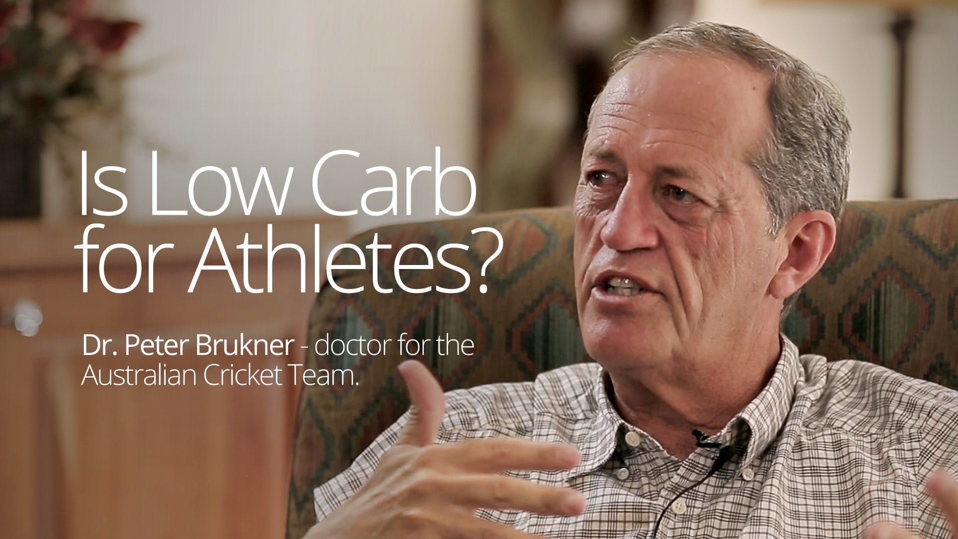 Is Low Carb for Athletes? – Interview with Dr. Peter Brukner