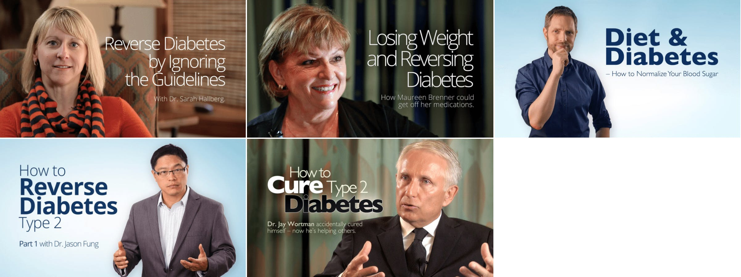 The Top 5 Videos About Diabetes and Low Carb