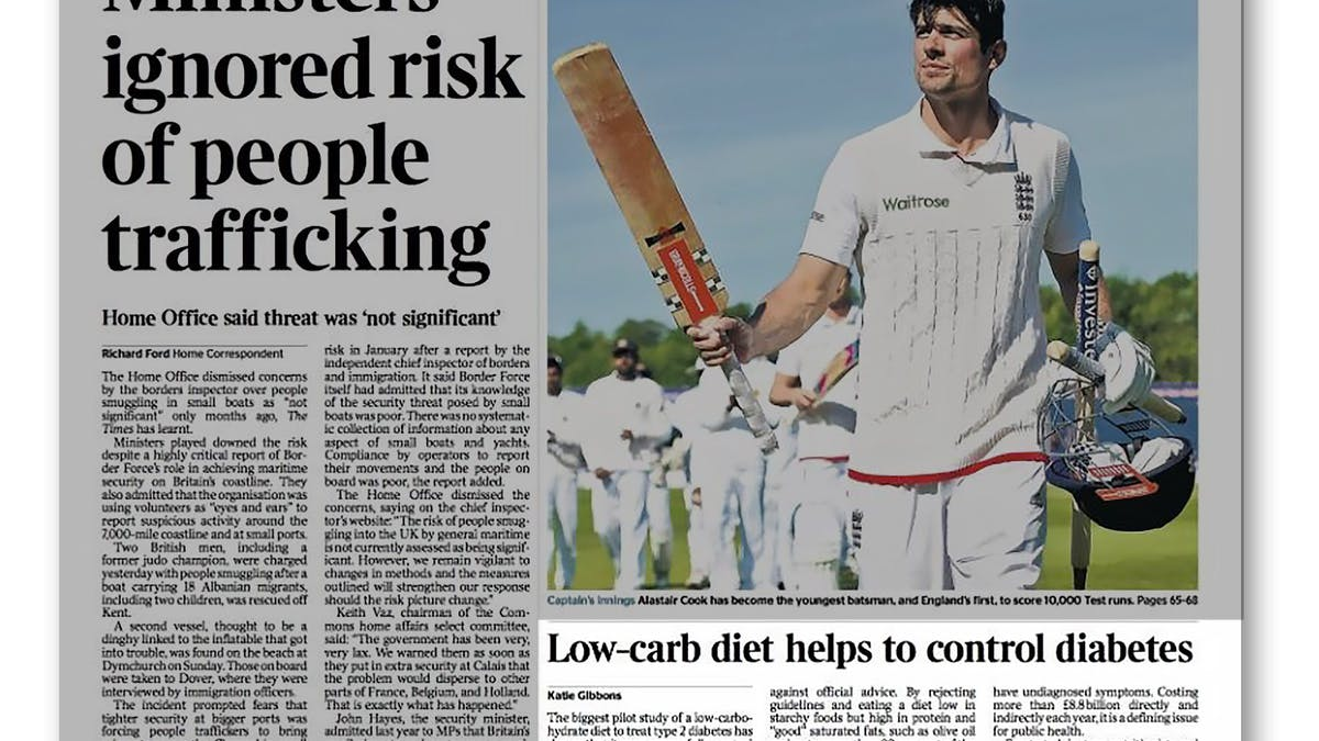 The Times: Low carb helps to control diabetes