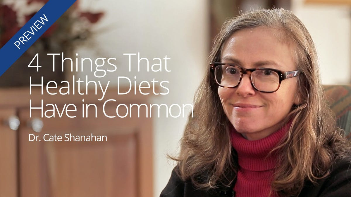4 things that healthy diets have in common