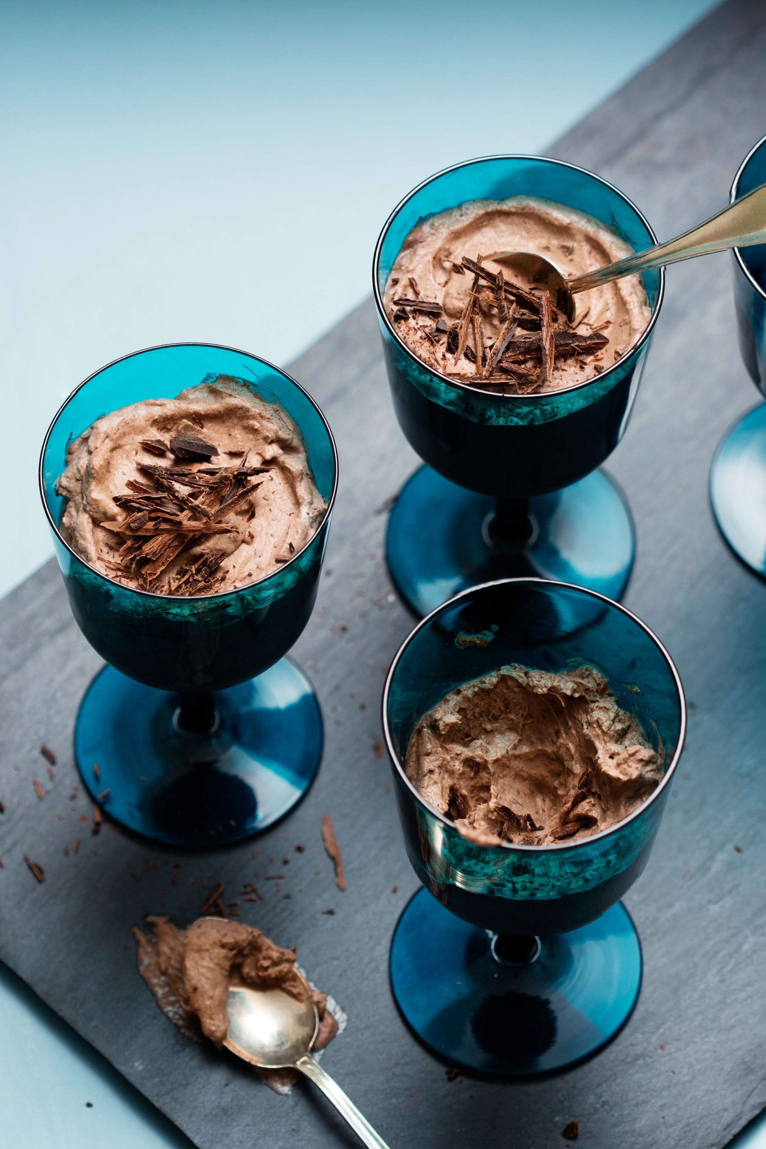 Low-carb chocolate mousse
