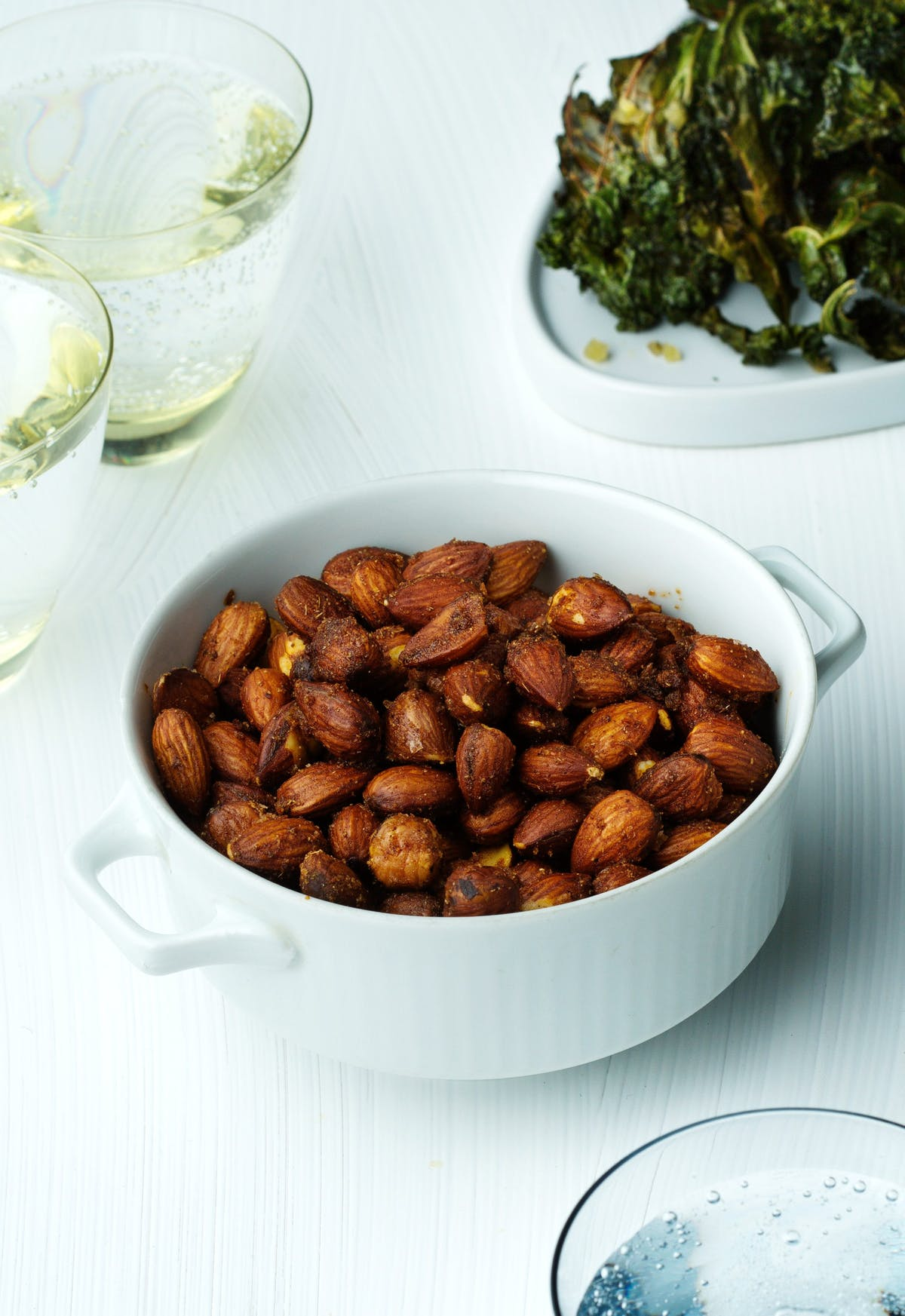 Spicy keto roasted nuts