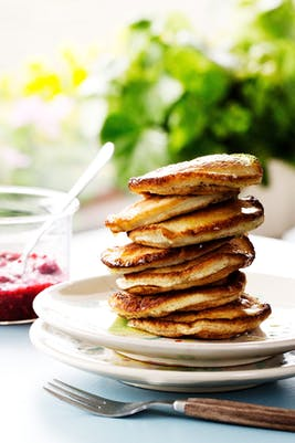 Low-carb coconut pancakes <br />(Breakfast)