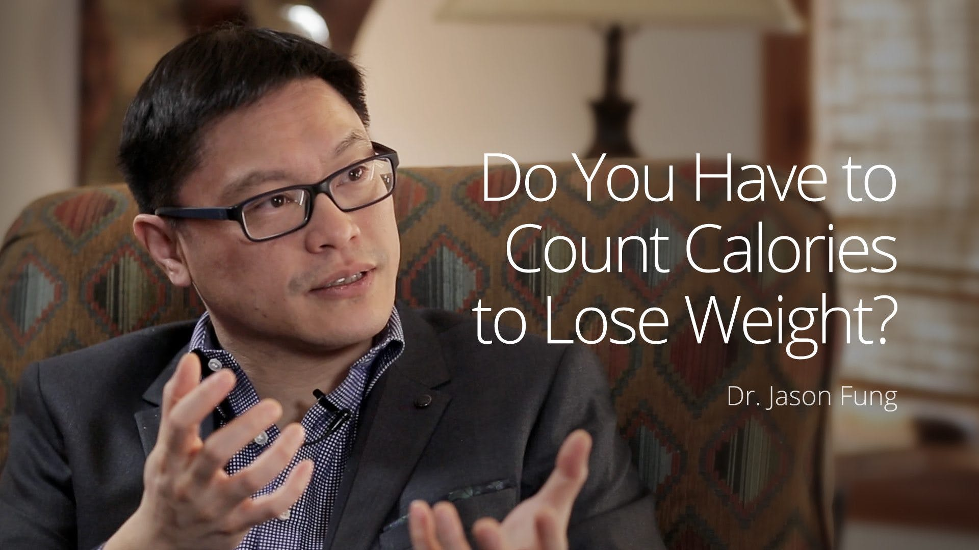 Do you have to count calories to lose weight?