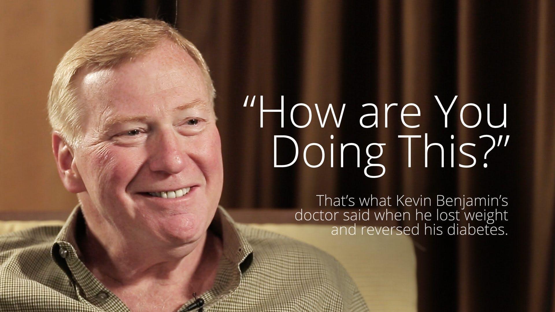 How Kevin Benjamin reversed his type 2 diabetes