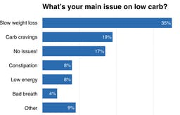 The Most Common Problems on LowCarb