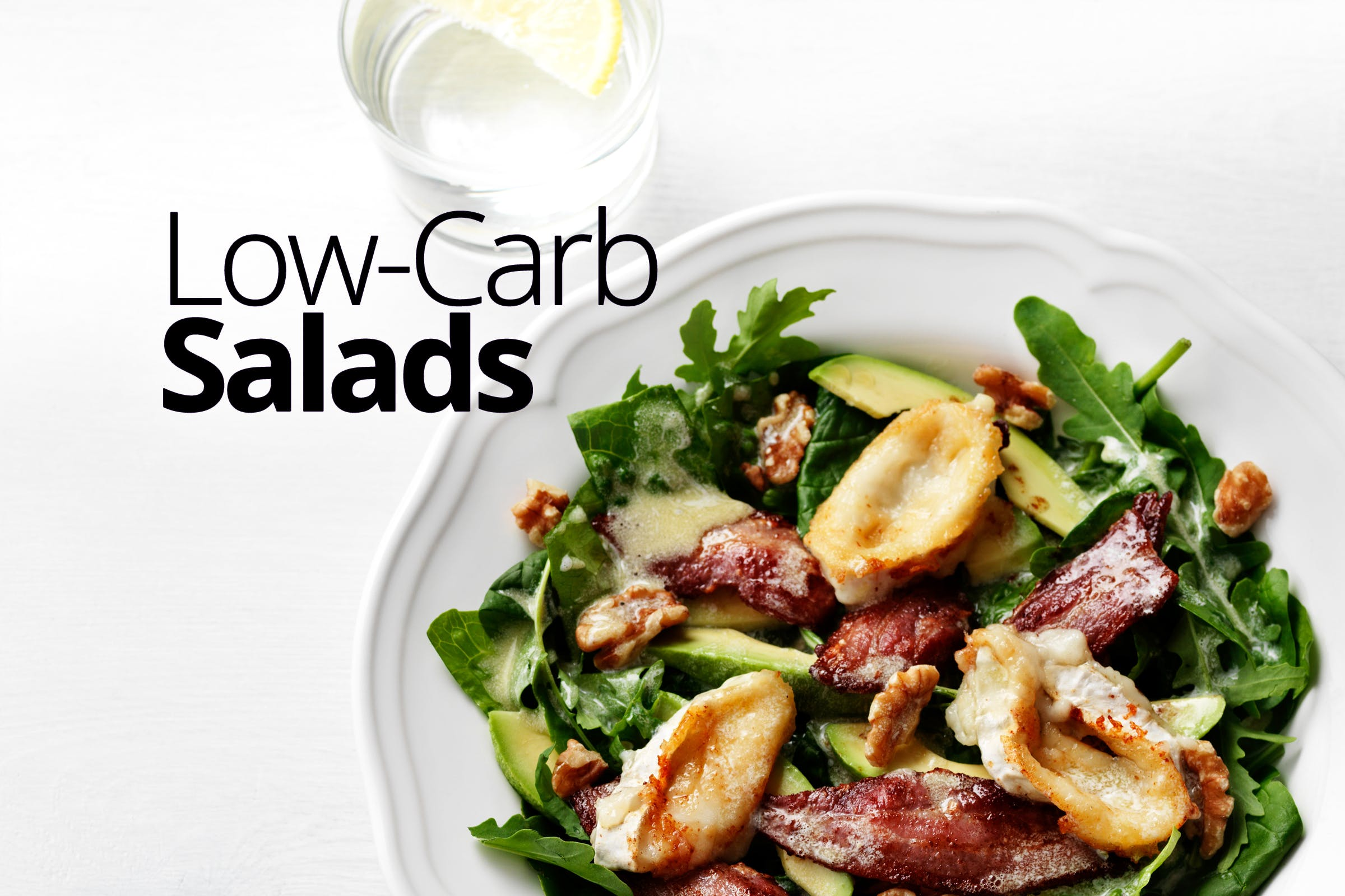 Top 30 low-carb salads