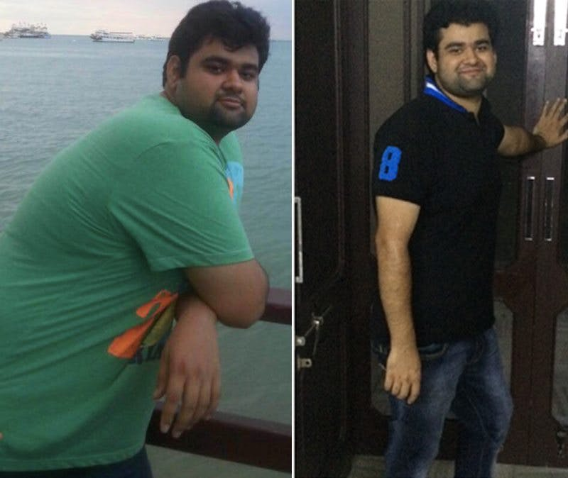 Brother Tarun before and after