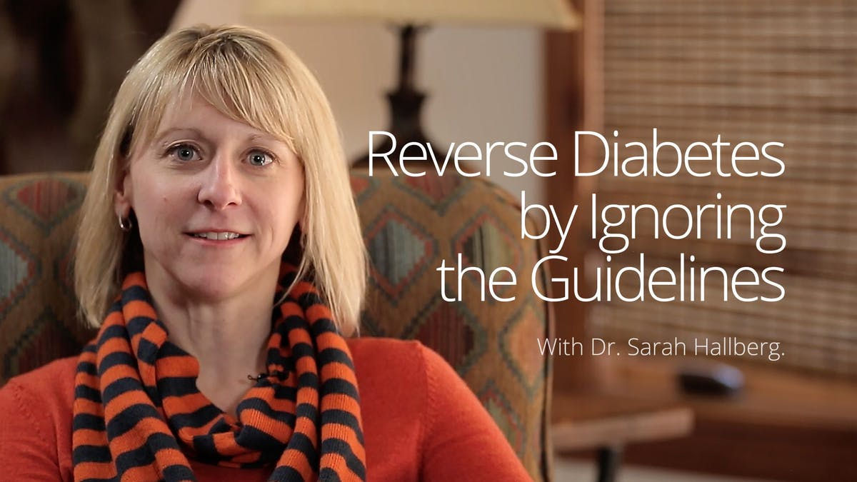 Reversing diabetes by ignoring the guidelines