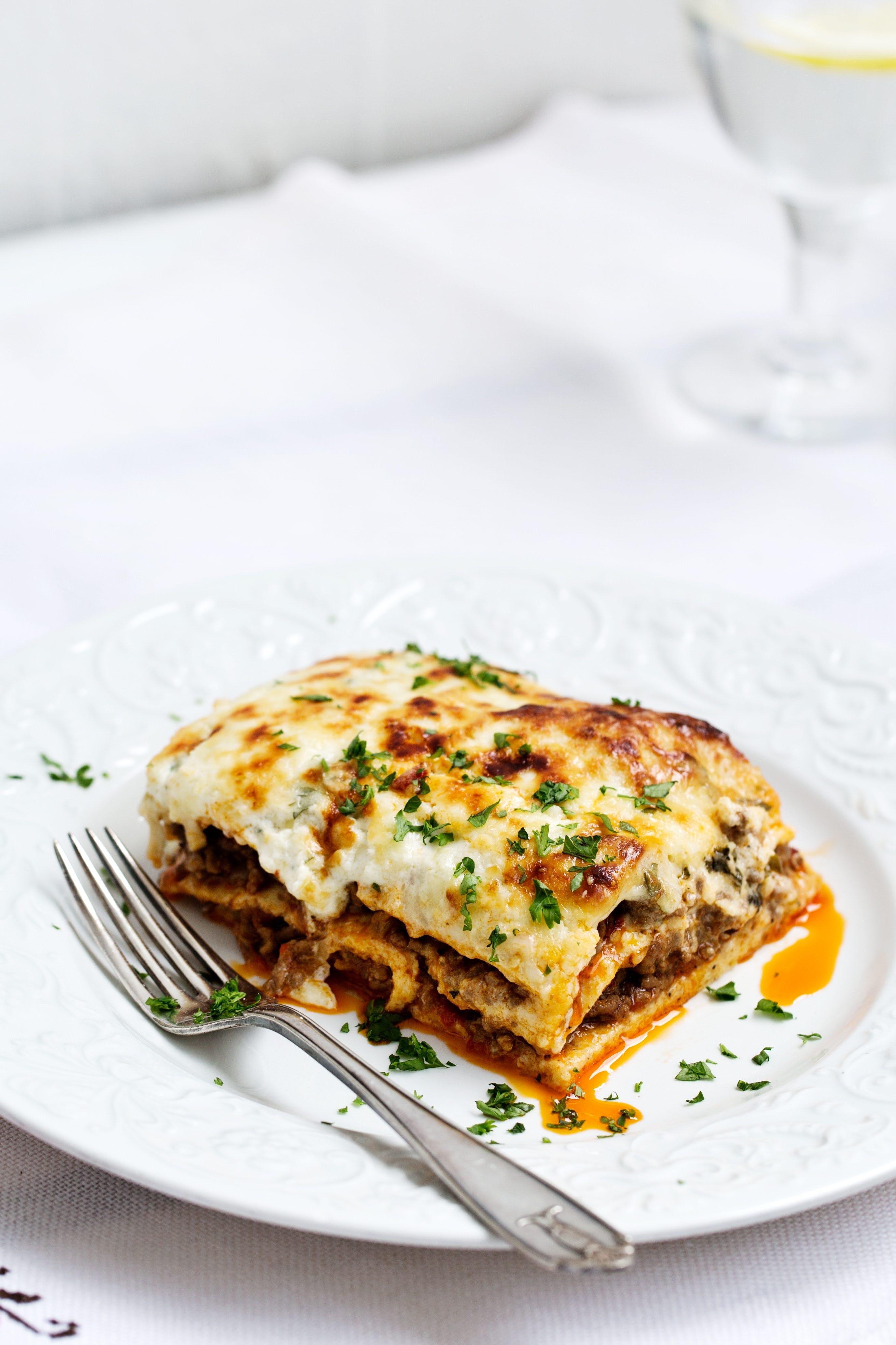 #10 top recipe of 2018: Keto lasagna