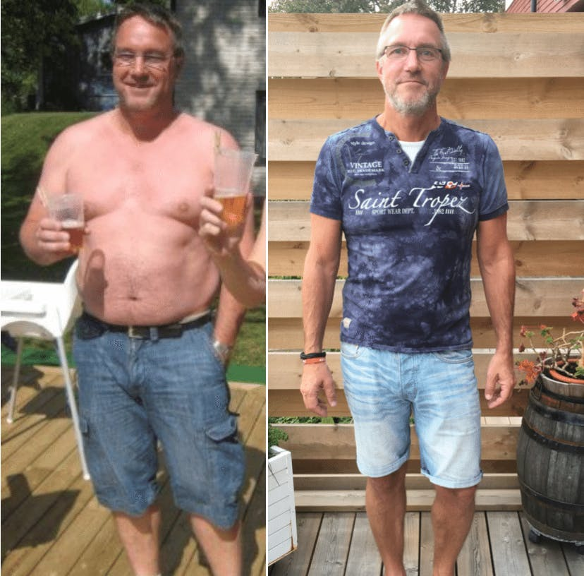 """Ever since that day I've been eating LCHF and no doctor in the whole world can ever change that"""